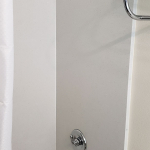guestroom shower head and tub